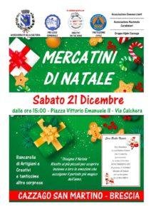 Mercatini di Natale a Cazzago San Martino @ Cazzago San Martino