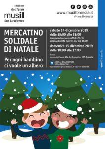Mercatino solidale di Natale al Musil @ Museo del Ferro (Musil)
