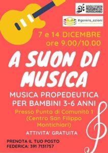 A suon di musica @ Centro San Filippo - Punto di Comunità 1