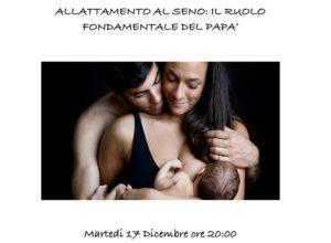 Allattamento&papà @ Centro la Volpe e il Canguro