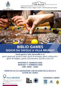 Biblio Games - Desenzano @ Villa Brunati | Desenzano del Garda | Lombardia | Italia
