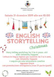 Storytelling in inglese a Botticino @ Biblioteca Comunale Libero Dordoni