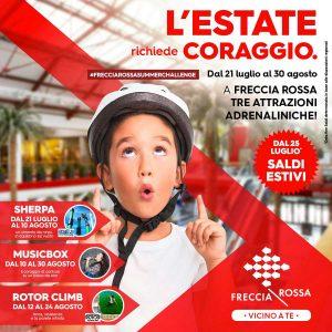 L'estate richiede coraggio! @ cc Freccia Rossa | Brescia | Lombardia | Italia