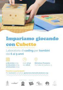 Impariamo giocando con cubetto @ Bibblioteca Prealpino