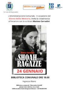 Giornata della memoria a Borgosatollo @ Biblioetca di Borgosatollo | Borgosatollo | Lombardia | Italia