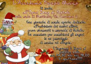 Open day di Natale @ Accademia Spazio Musica