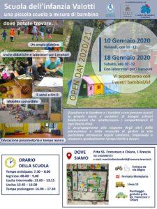 Open Day Scuola dell'infanzia Valotti - Mompiano @ Scuola dell'infanzia Valotti - Mompiano Brescia
