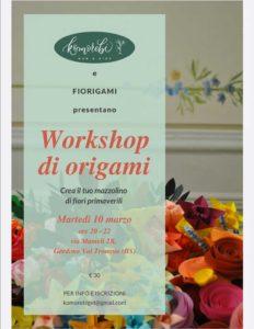 Workshop di origami per adulti @ Komorebi