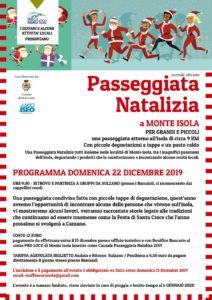 Passeggiata natalizia a Monte Isola @ ritrovo a Sulzano