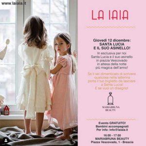 Santa Lucia e il suo asinello @ Mariabruna Beauty
