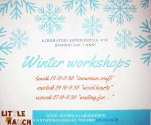Winter Workshop al Little Ranch @ Little Ranch | Lograto | Lombardia | Italia