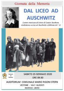 Serve alla memoria a Vestone @ Auditorium cinema Mario Rigoni Stern | Vobarno | Lombardia | Italia