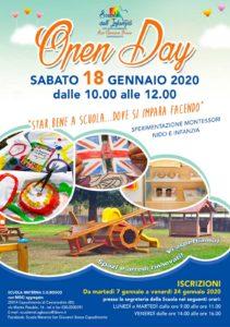 Open Day scuola dell'Infanzia con nido aggregato - Capodimonte @ Gruppo Scuola Infanzia S.G.Bosco