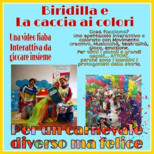 Carnevale con Biridilla @ online | Lombardia | Italia