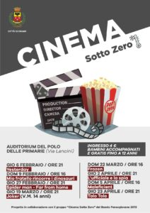 Cinema sotto zero a Chiari @ Auditorium Primarie