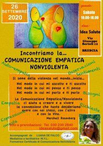 Incontriamo la Comunicazione Empatica Nonviolenta @ Idea Salute