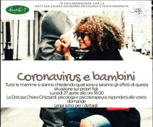 Coronavirus & Bambini @ Komorebi - ONLINE