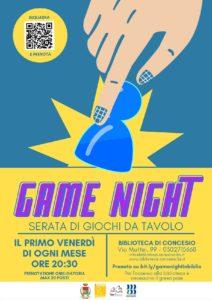 Concesio - Game night in biblioteca @ Biblioteca Concesio | Concesio | Lombardia | Italia