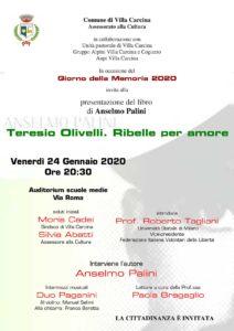 Giornata della memoria a Villa Carcina @ Auditorium di via Roma.