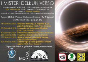 I misteri dell'universo @ Mo.Ca