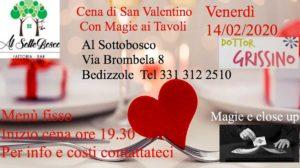 Magica cena di San Valentino al Sottobosco @ Sottobosco | Bedizzole | Lombardia | Italia