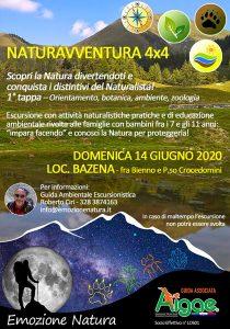 Emozione Natura - NaturAvventura 4x4 - Bazena @ ritrovo Albergo Bazena (1800 m)