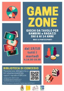 Concesio - Game zone in biblioteca @ Biblioteca di Concesio | Concesio | Lombardia | Italia