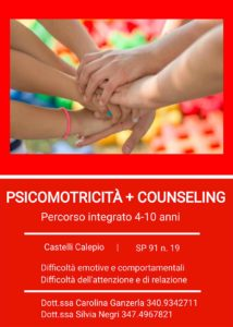 Psicomotricità e Parent training. Percorso integrato @ Studio professionale Arcobaleno