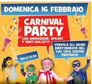 Carnival Party @ Toys Center Salò