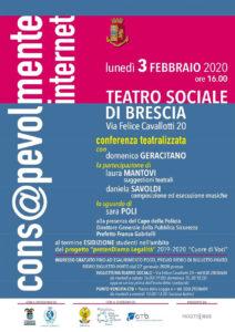 Cons@pevolmente internet @ teatro Sociale di Brescia