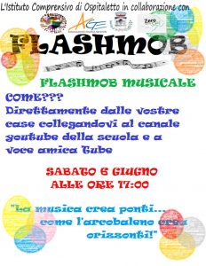 Flashmob musicale a Ospitaletto @ online su Youtube