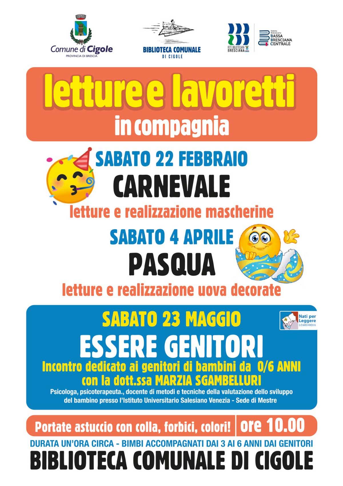 letture-lavoretti-cigole-biblioteca