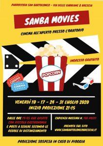 SanBa Movies @ Oratorio di San Bartolomeo Brescia
