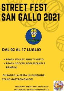 Street Fest San Gallo 2021 @ Oratorio di San Gallo