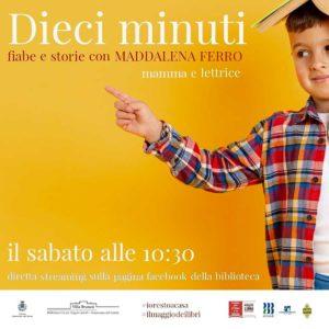 Dieci minuti, fiabe e storie @ Biblioteca Desenzano - ONLINE | Rivoltella, Desenzano | Lombardia | Italia