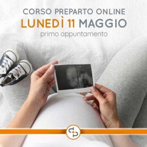 Corso preparto online @ Poliambulatorio San Pietro - ONLINE