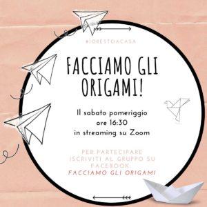 Facciamo gli origami @ diretta gruppo Facebook