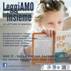 Leggiamo insieme! @ pagina Facebook del Sistema bibliotecario Nord-ESt