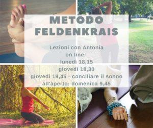 Lezioni Feldenkrais online @ online
