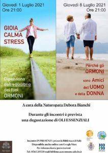 Incontro con Naturopata - parliamo di ormoni @ Biblioteca comunale Salò | Sabbio Chiese | Lombardia | Italia
