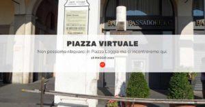 Piazza virtuale @ Evento online