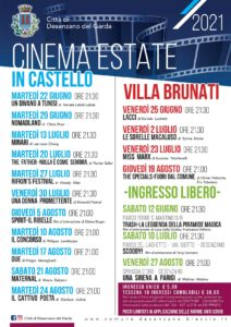 Arena estiva Desenzano - Cinema in castello e Villa Brunati @ Desenzano del Garda | Travagliato | Lombardia | Italia
