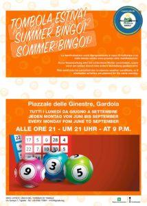 Tombola e bingo a Tignale @ Gardola, Piazzale delle Ginestre