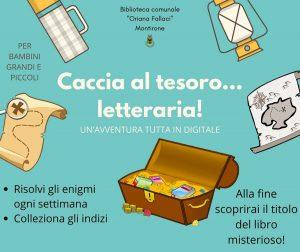 Caccia al tesoro letteraria Montirone @ online dalla biblioteca di Montirone