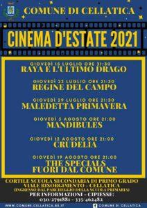 Cellatica - Arena estiva  di cinema all'aperto 2021 @ Campo Sportivo | Brescia | Lombardia | Italia