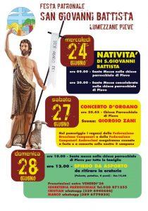 Festa di San Giovanni a Lumezzane @ Oratorio san Filippo Neri, Lumezzane Pieve