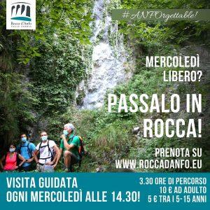 Mercoledì... passeggiata in Rocca ad Anfo @ Rocca d'Anfo | Anfo | Lombardia | Italia