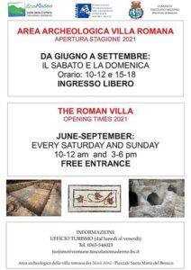 In famiglia alla Villa Romana @ Villa romana dei Nonii Arrii di Toscolano | Toscolano Maderno | Lombardia | Italia