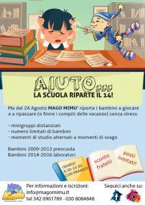Aiuto ... la scuola riapre il 14! @ Mago Mimù | San Zeno Naviglio | Lombardia | Italia