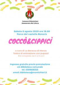 Coccò&Cippicì a Montichiari @ parco del Castello Bonoris | Montichiari | Lombardia | Italia